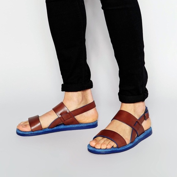 Ted Baker London Other - Ted Baker Men 7 Robii Dress Sandals Leather